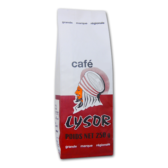 Café Lysor marron grains 250 g