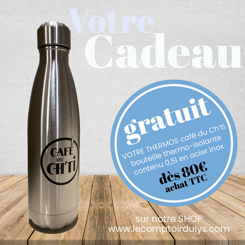 CAFE DU CH'TI: 18 paquets dont 2 offerts.
